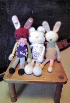 タッチのちがうウサギちゃんです♪