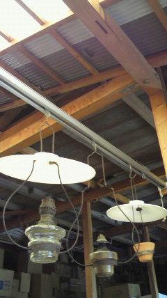 またまた大好き・古物ランプ♪