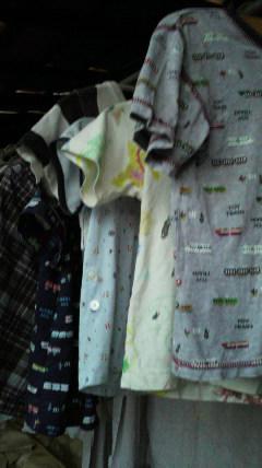 かわいい洗濯物♪