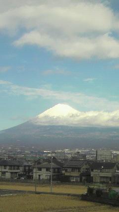 富士山が…♪
