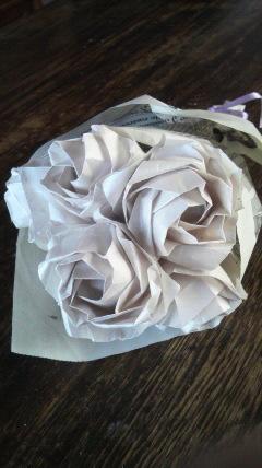 バラの花束♪