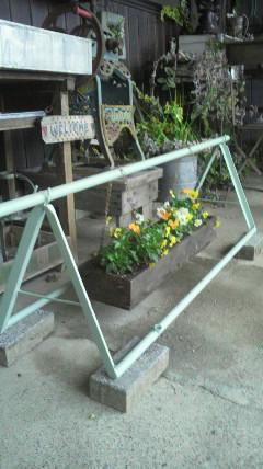 お花のブランコ…