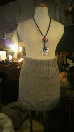 ニットのスカート♪